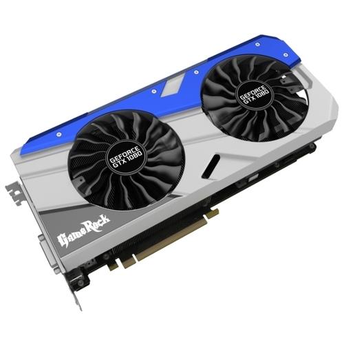 Видеокарта Palit GeForce GTX 1080 1746MHz PCI-E 3.0 8192MB 10500MHz 256 bit DVI HDMI HDCP