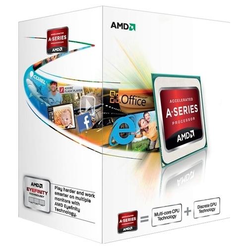 Процессор AMD A4-4000 Richland (FM2, L2 1024Kb)