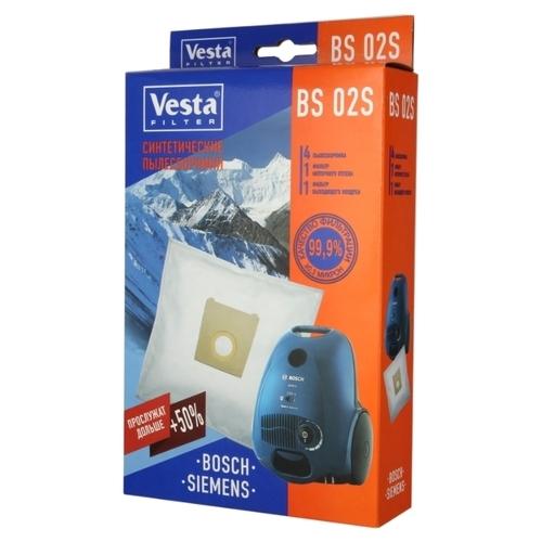Vesta filter Синтетические пылесборники BS 02S