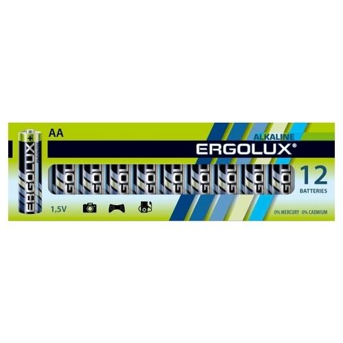 Батарейка Ergolux Alkaline AA