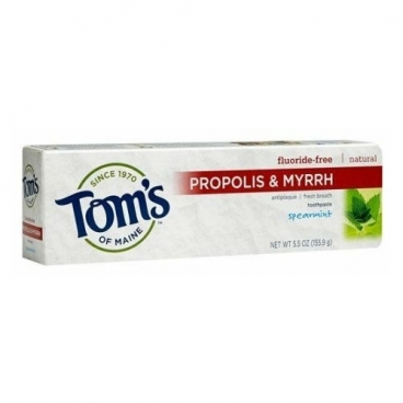 Зубная паста Tom's of Maine Propolis & Myrrh Курчавая мята