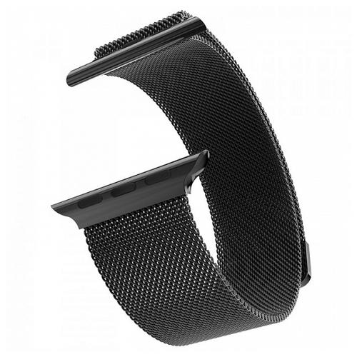 Devia Ремешок стальной Milanese Loop для Apple Watch 38/40mm