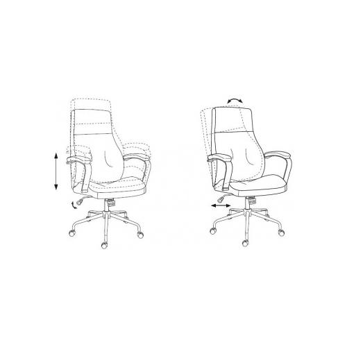 Компьютерное кресло Бюрократ T-703SL для руководителя