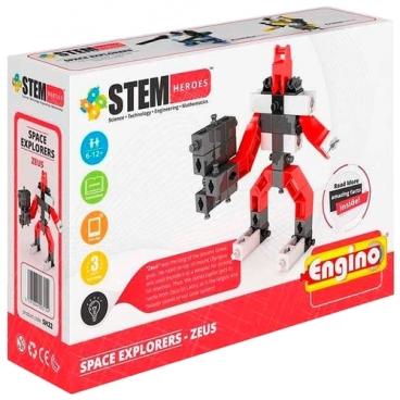 Конструктор ENGINO STEM Heroes SH22 Покорители Космоса - Зевс