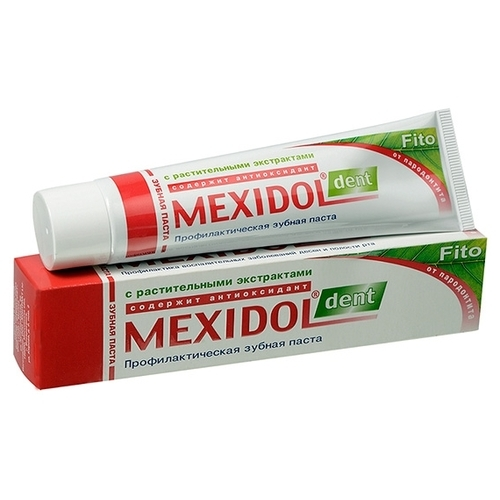 Зубная паста Мексидол Fito