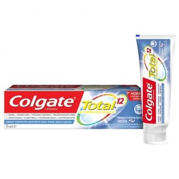 Зубная паста Colgate Total 12 Профессиональная чистка