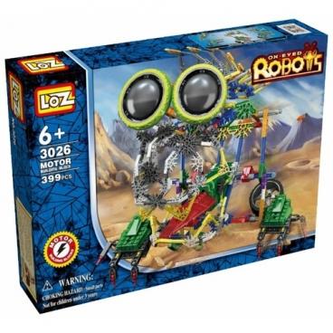 Электромеханический конструктор LOZ Ox-Eyed Robots 3026