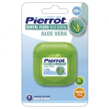 Pierrot зубная нить Aloe Vera dental floss