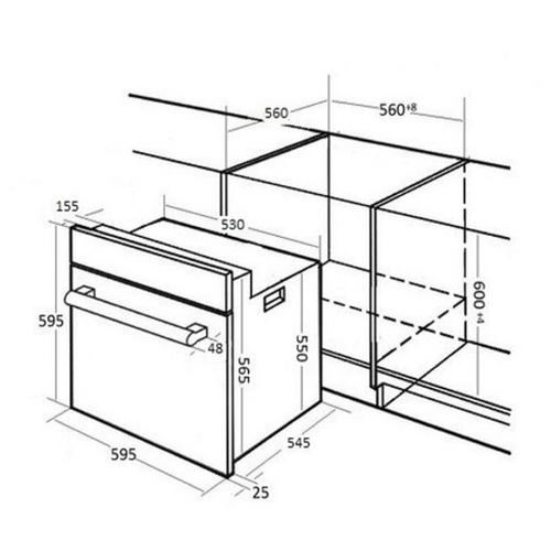 Электрический духовой шкаф Kuppersberg HO 658 W