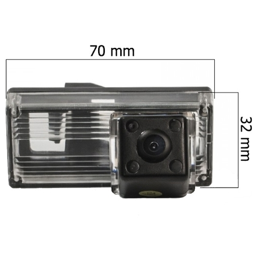 Камера заднего вида AVEL AVS315CPR/094