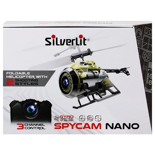 Вертолет Silverlit Power in Air SpyCam Nano (84729) 10 см