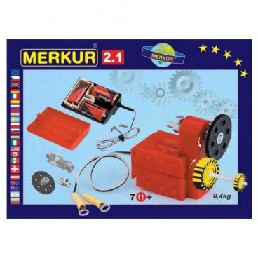 Электромеханический конструктор Merkur Motors and Gears 3215 M 2.1