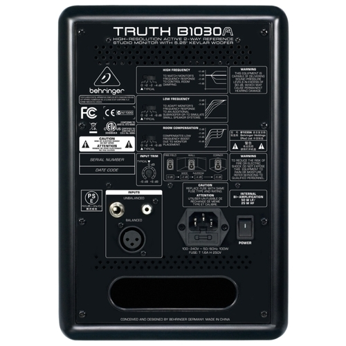 Акустическая система BEHRINGER Truth B1030A
