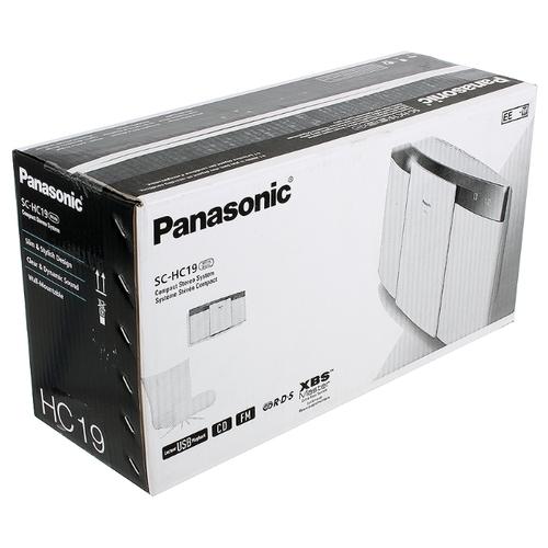 Музыкальный центр Panasonic SC-HC19EE-W