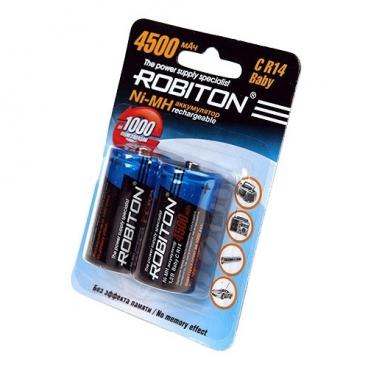 Аккумулятор Ni-Mh 4500 мА·ч ROBITON C R14 Baby