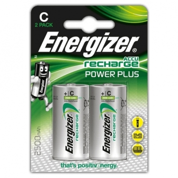 Аккумулятор Ni-Mh 2500 мА·ч Energizer Accu Recharge Power Plus C