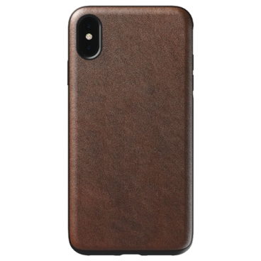 Чехол Nomad Rugged Leather Rustic для Apple iPhone Xs Max