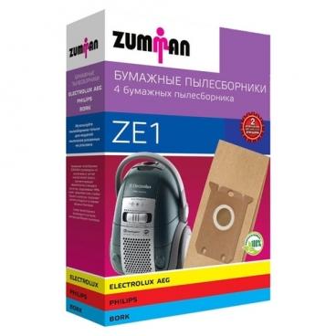 ZUMMAN Бумажные пылесборники ZE 1