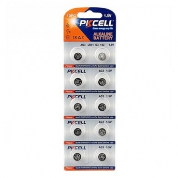 Батарейка PKCELL Super Akaline Button Cell AG3