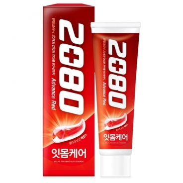 Зубная паста Dental Clinic 2080 Advance Red уход за деснами