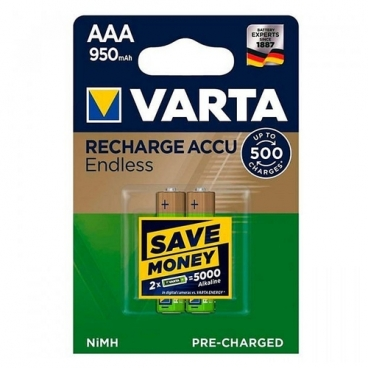 Аккумулятор Ni-Mh 550 мА·ч VARTA Recharge Accu Endless AAA 550
