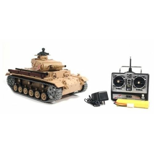 Танк Heng Long Tauch Panzer III (3849-1PRO) 1:16 54.5 см