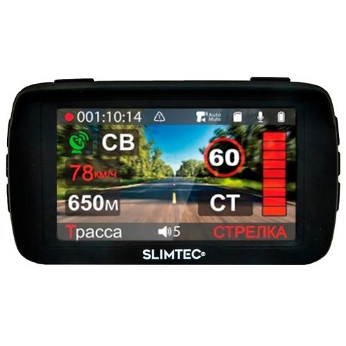 Видеорегистратор с радар-детектором Slimtec Hybrid X