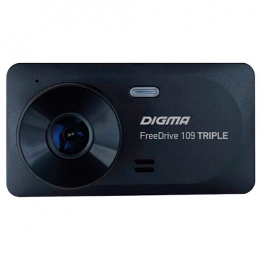 Видеорегистратор Digma FreeDrive 109 TRIPLE, 3 камеры