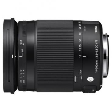 Объектив Sigma 18-300mm f/3.5-6.3 DC Macro OS HSM Contemporary Nikon F