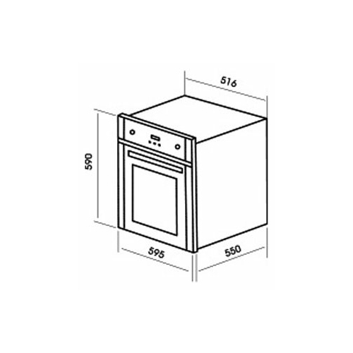 Электрический духовой шкаф MBS DE-609