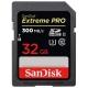 Карта памяти SanDisk Extreme PRO SDHC UHS-II 300MB/s