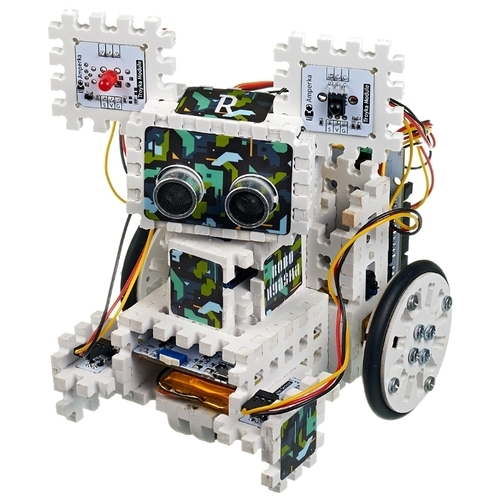Электронный конструктор Амперка AMP-S032 Робоняша - продолжение набора Йодо