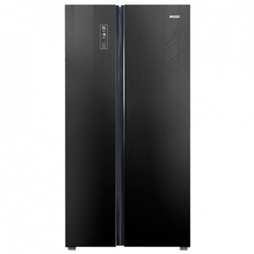 Холодильник Ginzzu NFK-530 Black glass