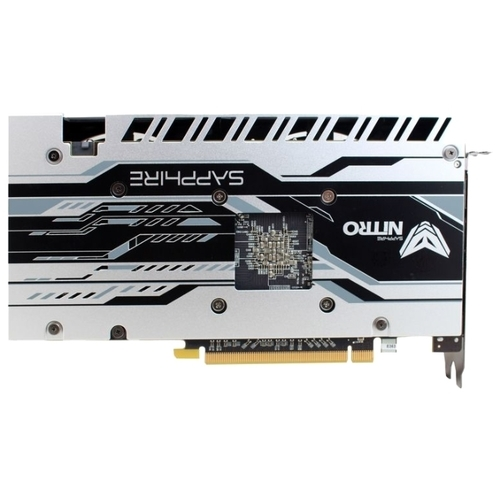 Видеокарта Sapphire Nitro ОС Radeon RX 480 1202Mhz PCI-E 3.0 8192Mb 7000Mhz 256 bit DVI 2xHDMI HDCP
