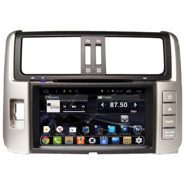 Автомагнитола Daystar DS-7041HD Toyota Prado 150 до 2013 ANDROID