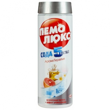 Чистящее средство Сода 5 Экстра Ароматерапия. Апельсин Пемолюкс