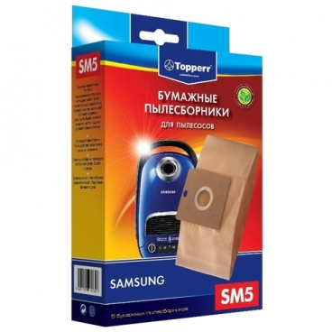 Topperr Бумажные пылесборники SM5