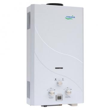 Проточный газовый водонагреватель Oasis 12 кВт белый