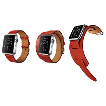 Rock Комплект ремешков 3 в 1 Genuine Leather Watch Strap Set для Apple Watch 38 мм