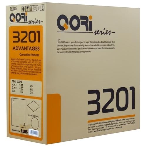 Компьютерный корпус Codegen SuperPower Qori 3201B 450W Black