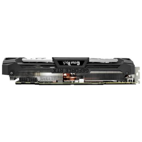 Видеокарта Palit GeForce RTX 2080 1515MHz PCI-E 3.0 8192MB 14000MHz 256 bit HDMI HDCP GameRock