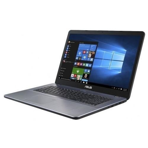 "Ноутбук ASUS VivoBook 17 X705UB (Intel Pentium 4417U 2300 MHz/17.3""/1920x1080/4GB/256GB SSD/DVD нет/NVIDIA GeForce MX110/Wi-Fi/Bluetooth/Windows 10 Home)"