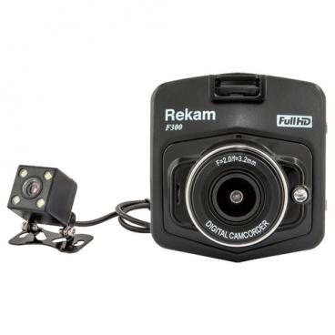 Видеорегистратор Rekam F300, 2 камеры
