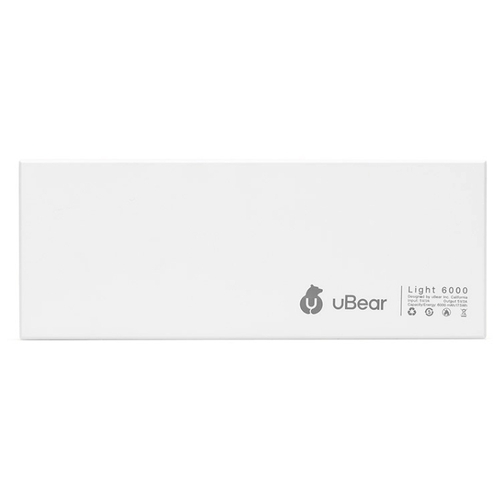 Аккумулятор uBear Light 6000