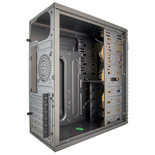 Компьютерный корпус ExeGate XP-331U w/o PSU Black