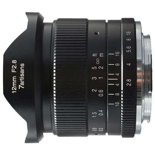 Объектив 7artisans 12mm f/2.8 Sony E
