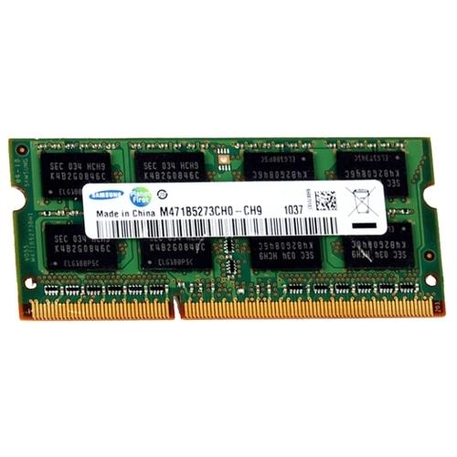 Оперативная память 4 ГБ 1 шт. Samsung DDR3 1333 SO-DIMM 4Gb