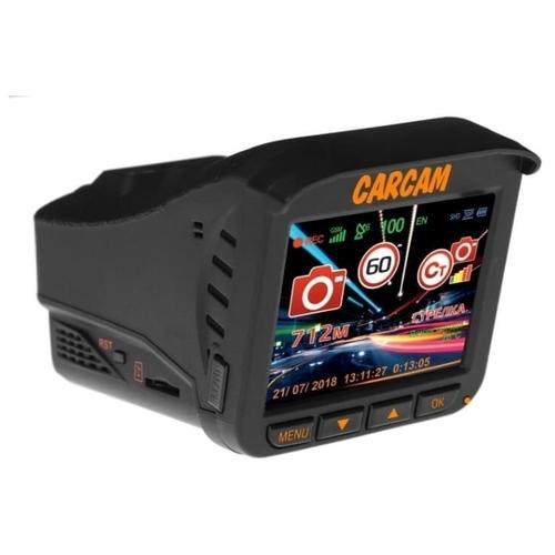 Видеорегистратор с радар-детектором CARCAM COMBO 5, GPS, ГЛОНАСС