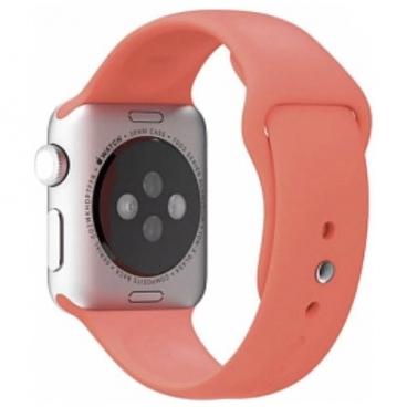 Karmaso Ремешок для Apple Watch 42 мм спортивный коралловый