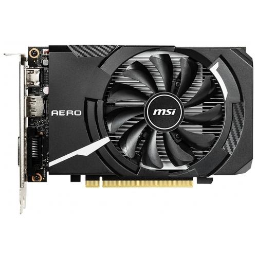 Видеокарта MSI GeForce GTX 1650 1740MHz PCI-E 3.0 4096MB 8000MHz 128 bit DVI DisplayPort HDMI HDCP AERO ITX OC